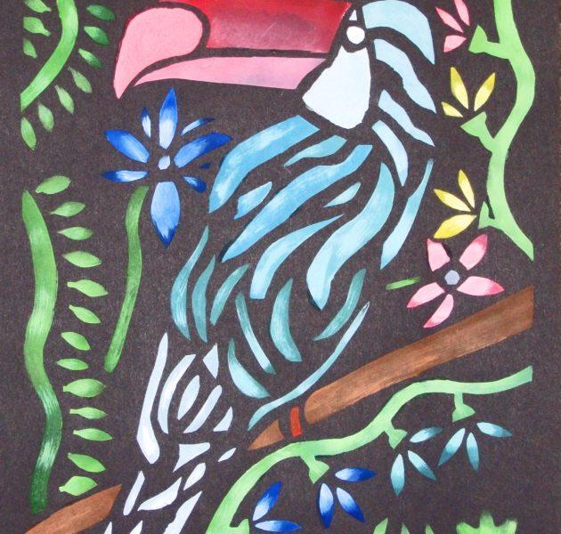 Mexican stencil print